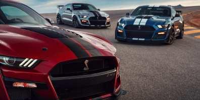 ford-shelby-gt500-2020-cobra-mustang-auto-deportivo-muscle-car-frente-diseno-azul-rojo-gris