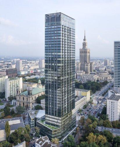 Cosmopolitan Tower, Varsovia, Polonia