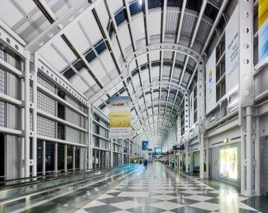United Terminal 1, Chicago, Illinois, EE.UU.