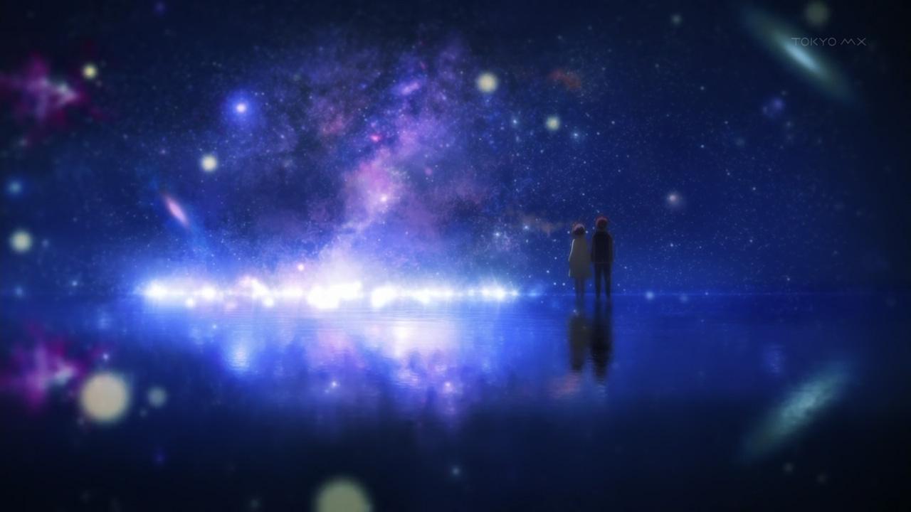 Starry Fall Night Wallpaper Chuunibyou Demo Koi Ga Shitai Accepting Reality Or