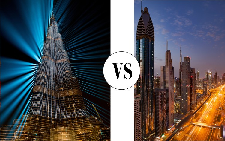 Abu Dhabi vs Dubai Holidays