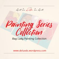 Series Painting - Bag Lady Collection