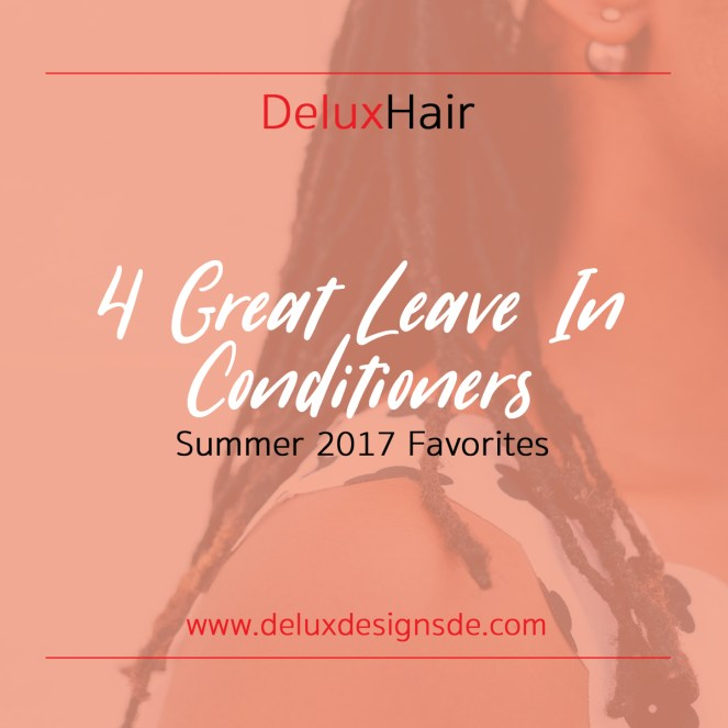 4 Great Leave In Conditioners