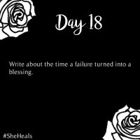 #31DaysSheHeals - Day 18