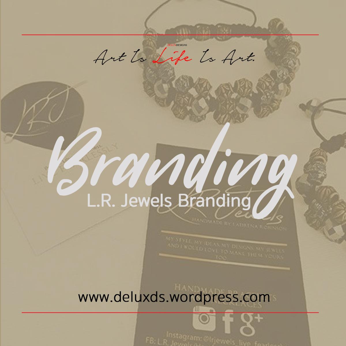 LR Jewels Branding