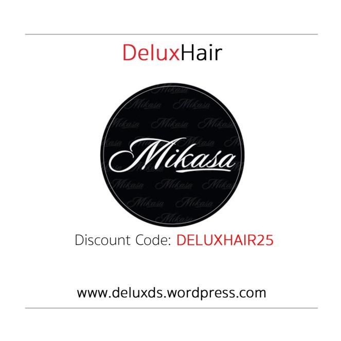 Mikasa Beauty discount code