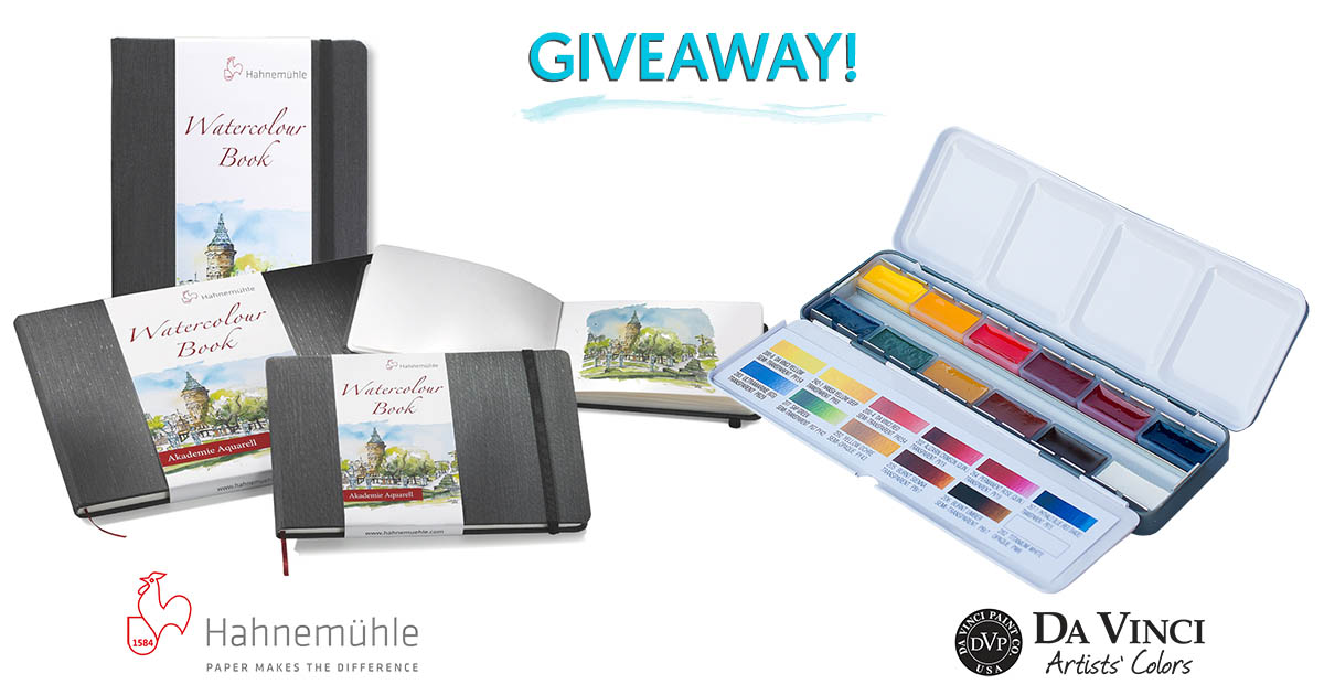 Watercolor Travel Sketching Giveaway!