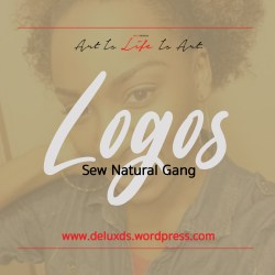 Logo Designs - Sew Natural Gang