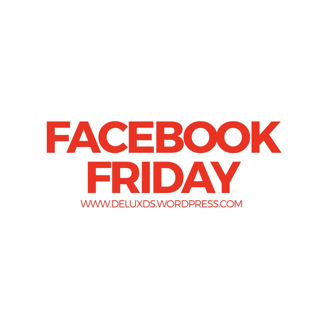 Facebook Friday while Blogging with DE