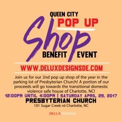 Pop Up Shop [Charlotte, NC]