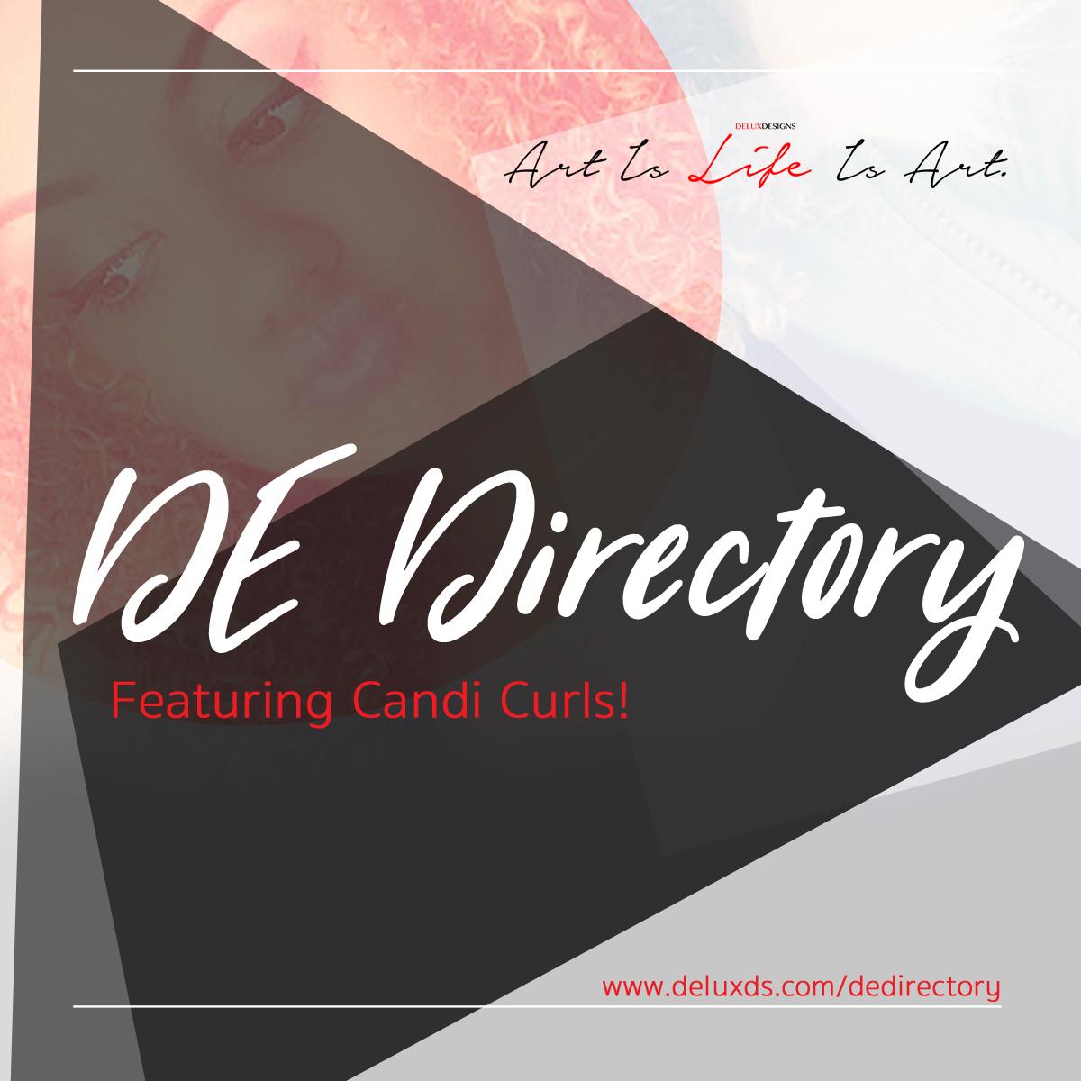 DE Directory – Candi Curls