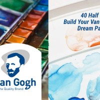 Van Gogh Watercolor Dream Palette Giveaway with Doodlewash