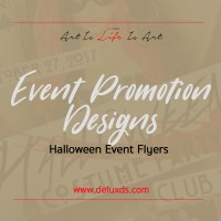 Flyer Designs - Halloween Edition