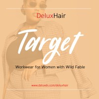DeluxHair - Target's New Workwear From Wild Fable