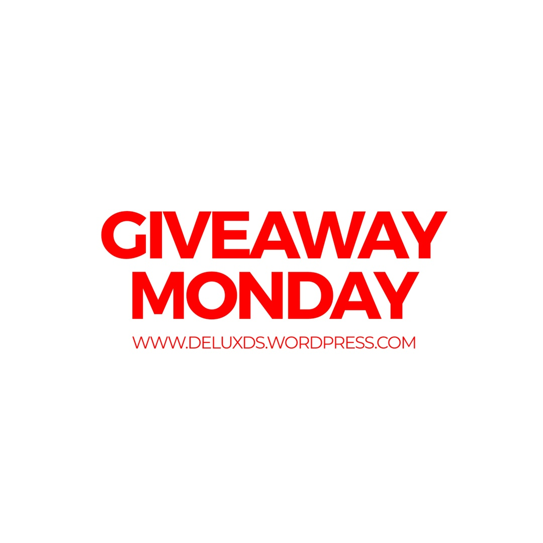 Giveaway Monday while Blogging with DE