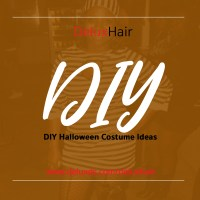 DeluxHair - DIY Halloween Costume Ideas