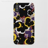 Pansy Love iPhone Case