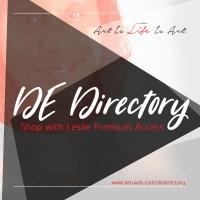 DE Directory - Shop With Leslie Premium Access