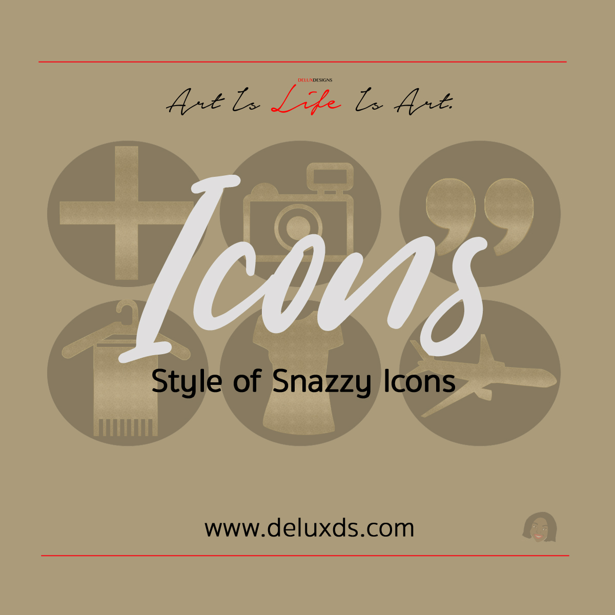 Style of Snazzy Icons