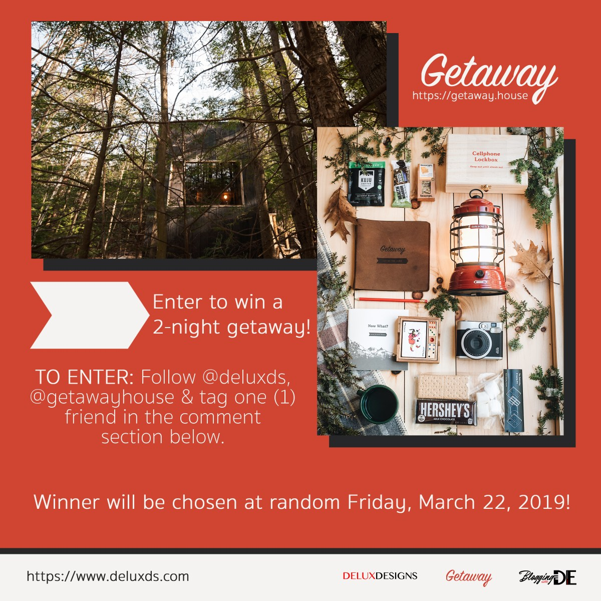 Enter to win a FREE Vacation with Getaway!