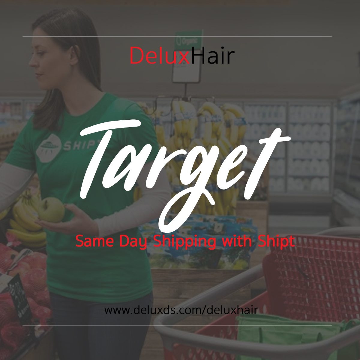 DeluxHair – Same Day Shipping with Target – Delux Designs (DE), LLC