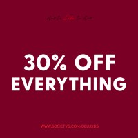 30% Off Everything with Society6