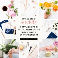 New stock photo collections + opt-in templates with Styled Stock Society