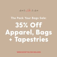 The Pack Your Bags Sale with Society6