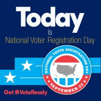 The DE Foundation - It's National Voter's Registration Day!