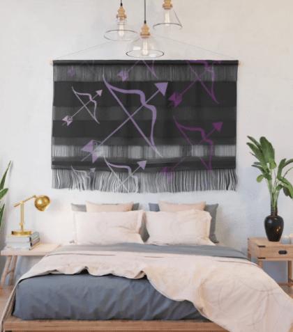 Sag Love Wall Hanging designed by Visual Artist Keara Douglas of Delux Designs (DE), LLC