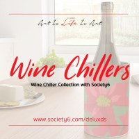 New Wine Chiller Collection with Society6