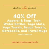 40% off with Society6