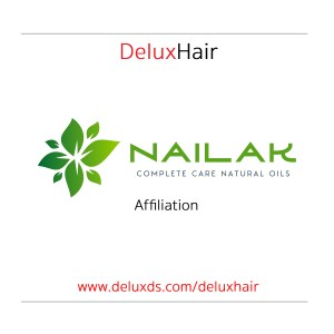 Nailak affilliate partnership with DeluxHair.