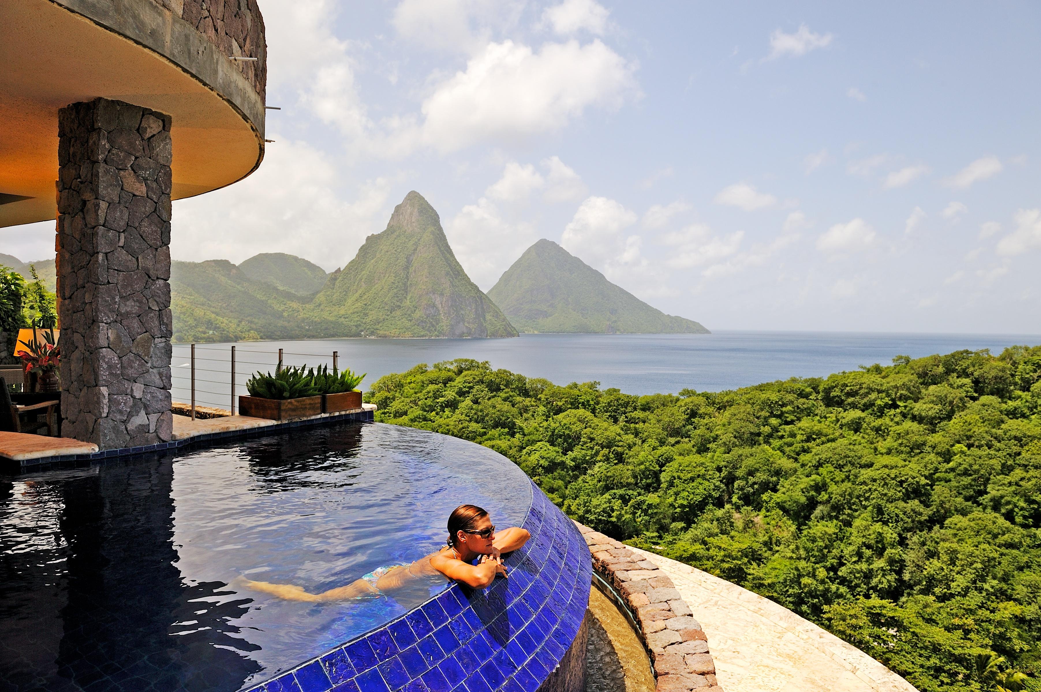 Hotel Address: PO Box 4000, Soufriere, St Lucia