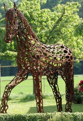 Hufeisen skulpturen