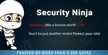 Security Ninja Giveaway