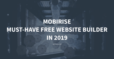 Mobirise review - a free website builder