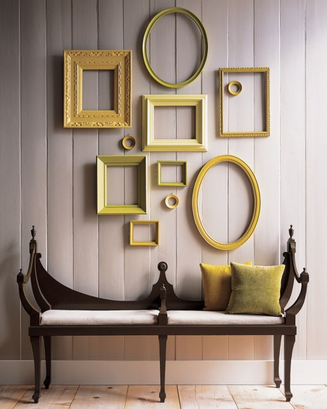 recycle paint and frames