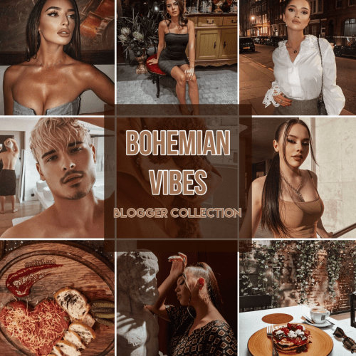 Bohemian Vibes Collection Lightroom Presets | deluxefilters.com