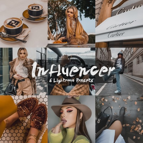 Influencer Collection Lightroom Presets   Perfect Preset   deluxefilters.com