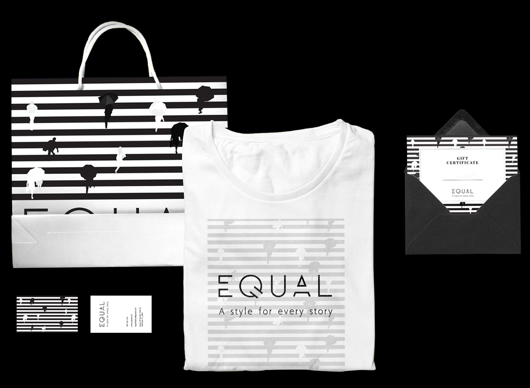 black equal deluxe graphic studio