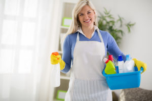 how to get better at cleaning my house