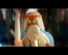 Movie Review: The Lego Movie morgan freeman as vitruvious
