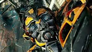 Bumblebee, where's Shia? And why are your tires covered in red paint...Oh God!