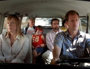 About how all family road trips look, really.