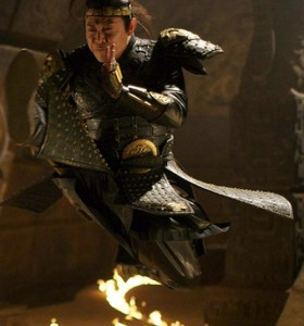 Pro Tip:  If the guy you're fighting ever morphs into Jet Li, run the hell away.