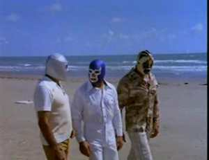 The masked saint rant featuring Santo and the Mystery in Bermuda