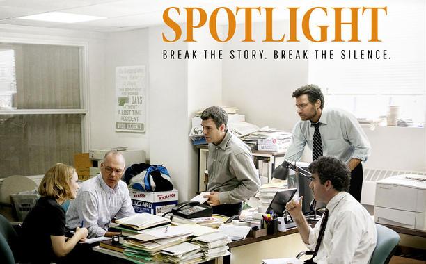 Spotlight a movie review