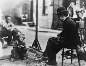 Charlie chaplain The Kid (1921)