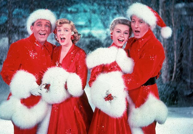 The Cast Of White Christmas.Retro Review White Christmas 1954